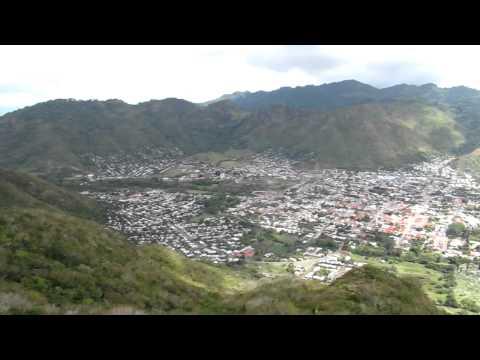 Jinotega birds eye view