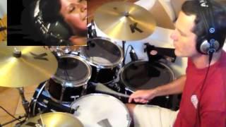 Aguas De Março - Elis Regina & Tom Jobim 1974 (Drum Cover)
