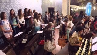 Onde Deus te levar - Coro Juvenil de Oliveirinha