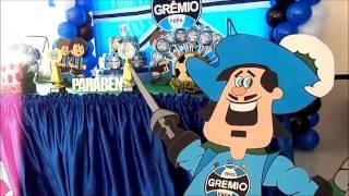 Decoração Infantil do Grêmio!!!