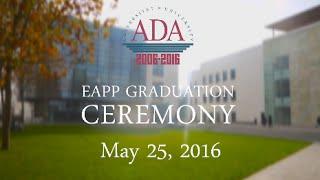 EAPP Graduation Ceremony / Promo Video