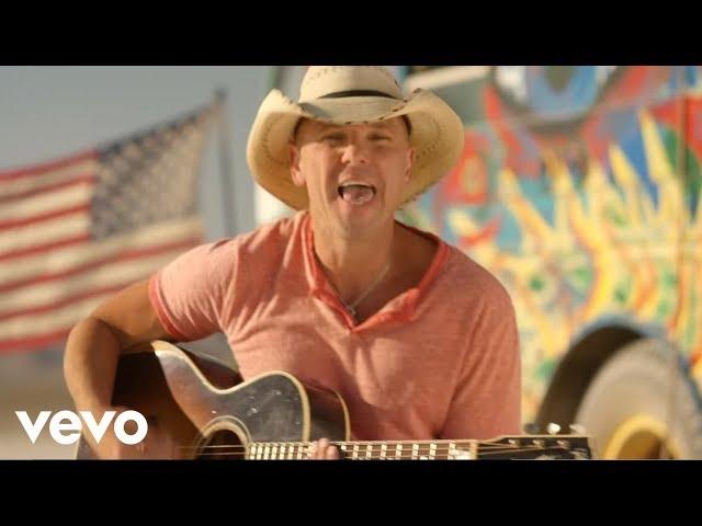 Videoclip oficial de la canción American Kids de Kenny Chesney
