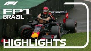 2019 Brazilian Grand Prix: FP1 Highlights