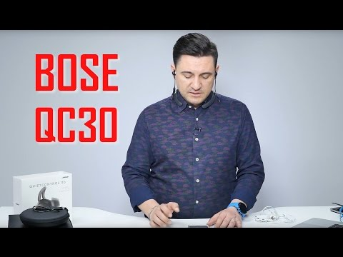 UNBOXING & REVIEW - BOSE QuietControl 30