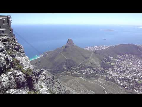 On top of table mountain, Cape town, South africa  Capetown