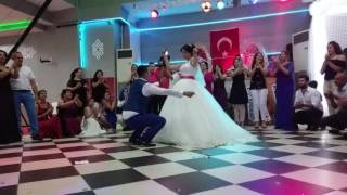 Traditional dancing at a Turkish wedding