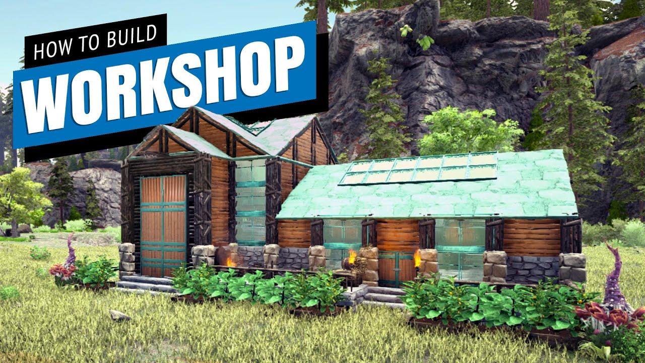 Aaron Longstaff - Ark: How To Build A Workshop