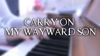 Kansas - Carry On My Wayward Son | Supernatural s10e5 | Piano Cover (w/ sheet mus)