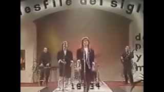 Sandra & Michael Cretu   In The Heat Of The Night Live at desfile del Siglo 1985