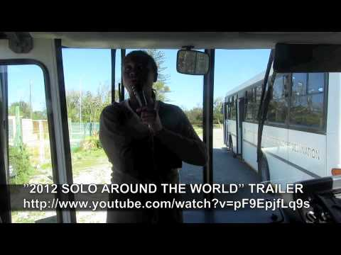 PAUL HODGE: NELSON MANDELA PRISON, SOLO AROUND WORLD IN 47 DAYS, Ch 54, Amazing World in Minutes