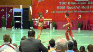 Schuler-Klasse Charline Dahms - Marvin Pichler - LM Niedersachsen Bukeburg 2008 Endrunde