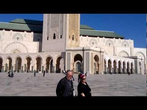 #Casablanca الدار البيضاء  mosque of Hassan II     meczet Hassan II, Al-Dar-Al-Beydha