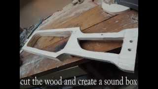 How To Build a DIY 2-String Tagelharpa / Talharpe / Jouhikko