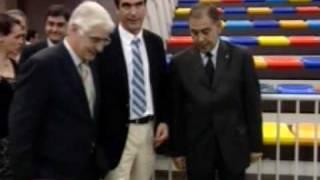 """El presidente Barreda inaugura el Palacio Multiusos """"Aguas Vivas"""" de Guadalajara"""
