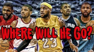 WHAT IF KYRIE IRVING IS TRADED? (Is Lebron Gone?)