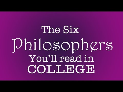 The Six Philosophers You'll Read in College (College Humor Parody) - Philosophy Tube