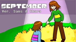 【Undertale】September Ver. Sans & Chara【The Living Tombstone】