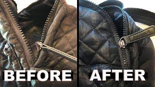 Zipper Repair   Quick Fix for a Broken Separated Zipper