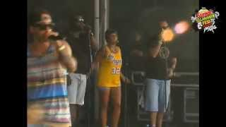 Dengaz live at Sumol Summer Fest 2013 - Tun Up (Feat. Maikal X) [HD]