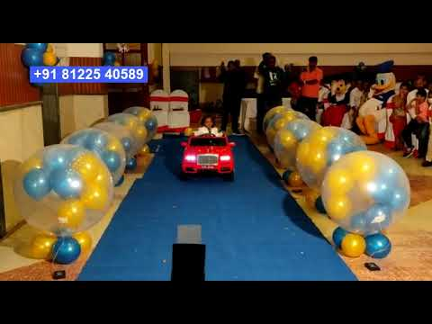 #Balloon Blast New Concept #Birthday Baby Entry #Bangalore +91 81225 40589