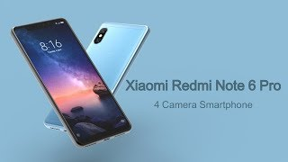 Xiaomi Redmi Note 6 Pro Trailer | The Four cameras Smartphone is here