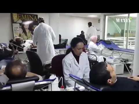 Campagne solidaire de don du sang organisée par le Groupe Le Matin