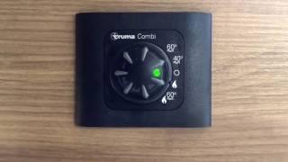 Come funziona la truma combi con pannello di comando cp Classic offerto da CAMPERIS