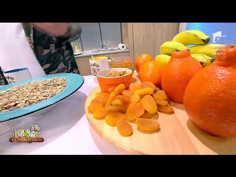Granola, o combinație perfectă între cereale și fructe