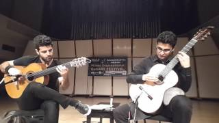 Gymnopedié No.1 - Microtonal Guitar Duo (Live in Miami International GuitarART Festival)