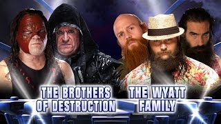 The Brothers of Destruction vs. The Wyatt Family - Fantasy Match-Up