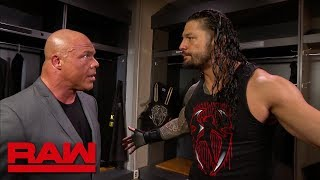 Roman Reigns is tired of Brock Lesnar's disrespect: Raw, April 2, 2018