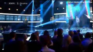 "[X Factor DK] Wasteland sings ""Too Close"" - Live Show 1 [LQ]"