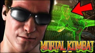 Why Does Johnny Cage Have Green Powers/Energy? (Mortal Kombat Explained)