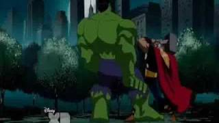 Hulk vs Thor (5th Battle)