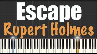 Escape (The Piña Colada Song) - Rupert Holmes - Piano Tutorial