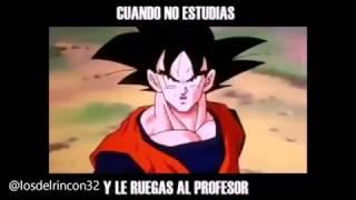 Tip De Goku: Examen con el profesor