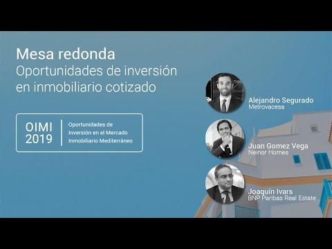 OIMI 2019: Oportunidades de Inversión en el Mercado Inmobiliario Mediterráneo