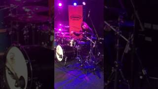 Sound check with jay Weinberg of Slipknot (solo)