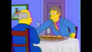 Steamed Hams except every grunt, sigh, moan, and yawn is extended