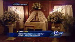 Tabernacle vanishes from historic Albuquerque church