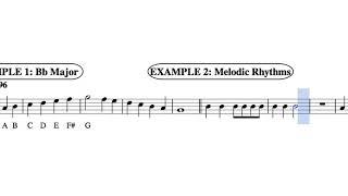 Grade 6 Playing test 1 Alto Sax