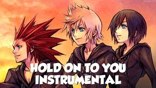 """Hold On to You"" - Kingdom Hearts Song OFFICIAL INSTRUMENTAL/KARAOKE VERSION (NateWantsToBattle)"