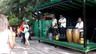 Live Cuban Band in Key West