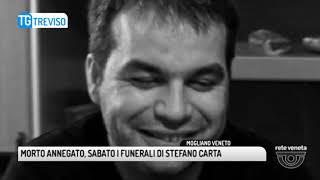 TG TREVISO (08/05/2018) - MORTO ANNEGATO, SABATO I FUNERALI DI STEFANO CARTA