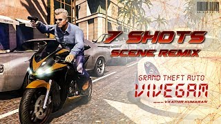 Grand Theft Auto 5 - Vivegam - 7 Shots Sniper Scene Remix