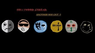 Another Way Out - Hollywood Undead -(Lyrics Video)-