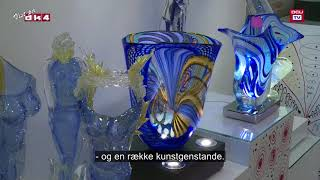 Tv: Massimiliano Schiavon Art Team - glaspusteri i Venedig