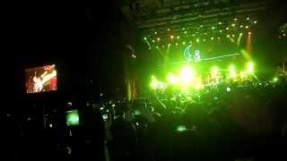 CALLE 13 - Ojos Color Sol (ft Silvio Rodriguez) Multi-Viral Marzo 14 Santiago 2014