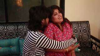 Hot Aunty Romance At Home With Lover width=