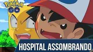 Pokémon GO - Achei um Hospital Assombrado na minha cidade